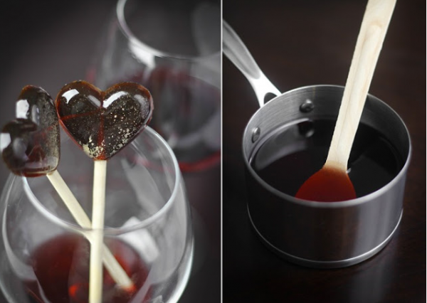 Wine Lollipops Recipe